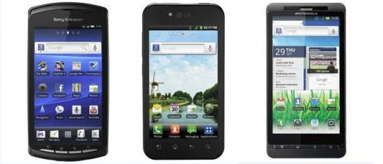 Cellcom adds three Android phones: Sony Ericsson Xperia PLAY, LG Ignite and Motorola Milestone 2