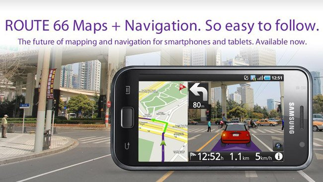 ROUTE 66 brings its navigation app to Android