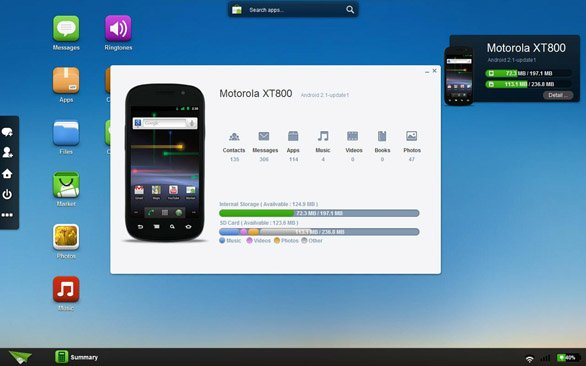 AirDroid control smartphone PC