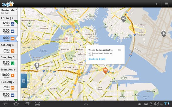 TripIt launches Android app for Samsung tablets