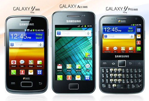 Samsung Galaxy Ace Duos launches in India, alongside Galaxy Y Duos, Galaxy Y Pro Duos and Star 3 Duos