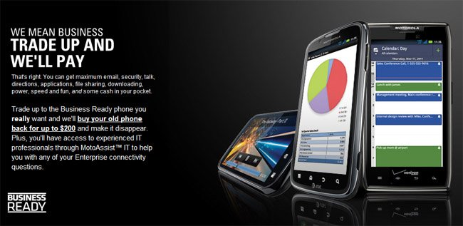 Motorola launches trade-in program with MotoAssist IT service to help businesses switch to Android