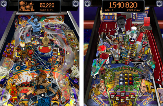 Pinball Arcade launches for iOS and Android devices; World's best mobile pinball?