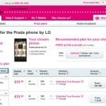 LG Prada 3.0 now available from T-Mobile