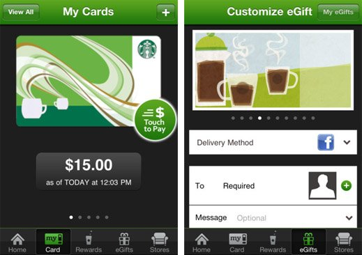Starbucks' iPhone app gets PayPal support in the U.S. and Canada