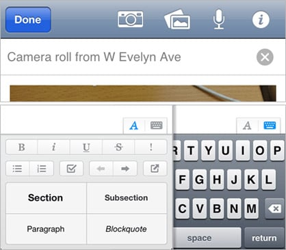 Evernote for iOS updated with redesigned screens, improved usability, new settings and more
