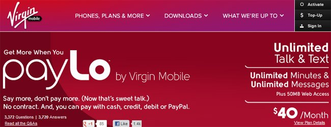 Billing & Charges Help & Support Virgin Mobile
