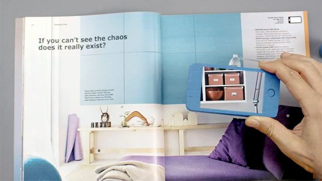 IKEA's print catalog gets augmented reality twist