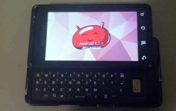 Jelly Bean ported to the original Motorola DROID