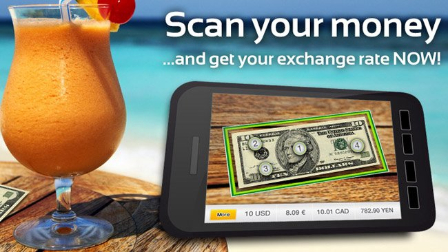 Wikitude now lets you scan the money to get exchange rates!