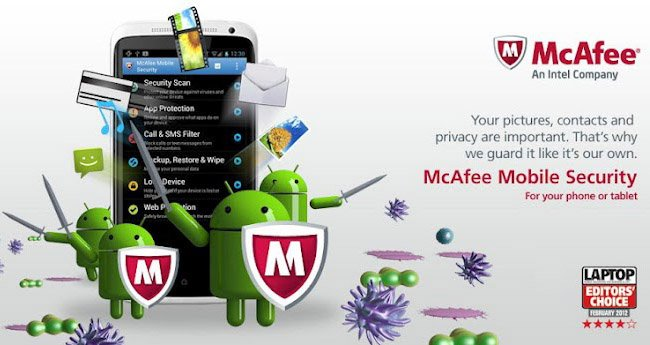 McAfee: Almost all mobile viruses are made for Android