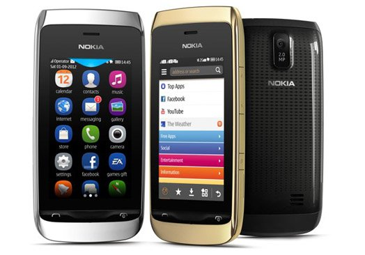 Asha 308 and 309 join Nokia's feature phone range