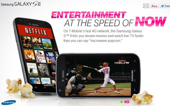 Contract-free T-Mobile Samsung Galaxy S II now available for $299 from Walmart