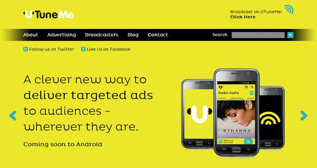 UTuneMe brings audio ads to a smartphone near you