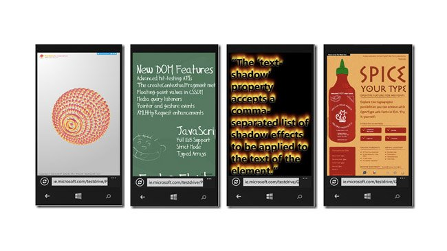 Microsoft explains differences in Internet Explorer 10 on Windows 8 and Windows Phone 8