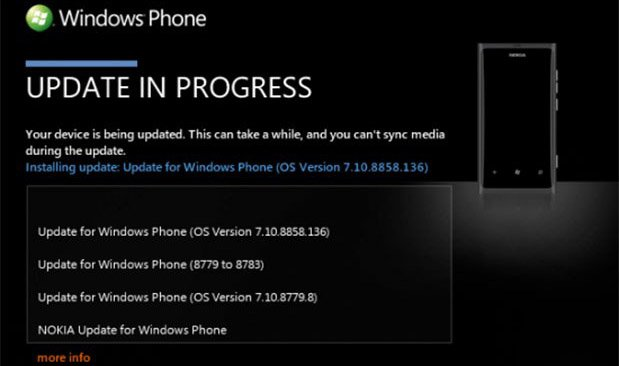 Nokia Lumia 800 starts receiving Windows Phone 7.8 update in Europe