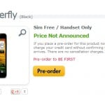 HTC Butterfly gets a page at Expansys UK