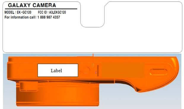 Samsung Galaxy Camera with Verizon LTE caught at the FCC