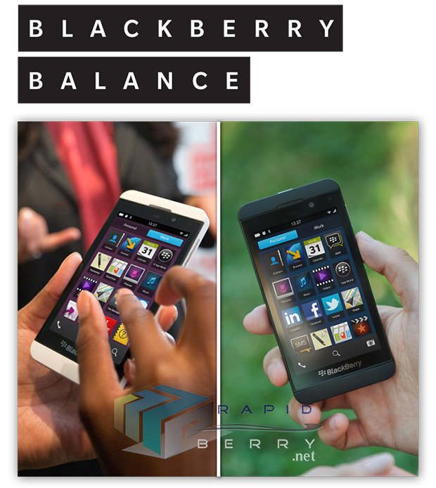 BlackBerry Z10 promo materials