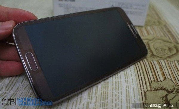 Samsung Galaxy Note II in Amber Brown