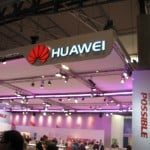 Huawei booth tour