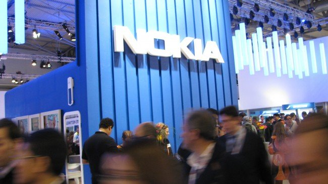 Nokia booth tour