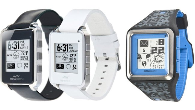 "MetaWatch teams up with mobile designer Frank Nuovo over the next wave of ""functionally chic"" smart watches"
