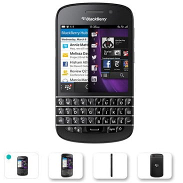 BlackBerry Q10 coming to O2 UK