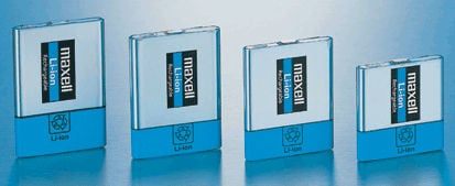Hitachi Maxell working on Li-Ion battery that packs 60% more capacity than existing batteries