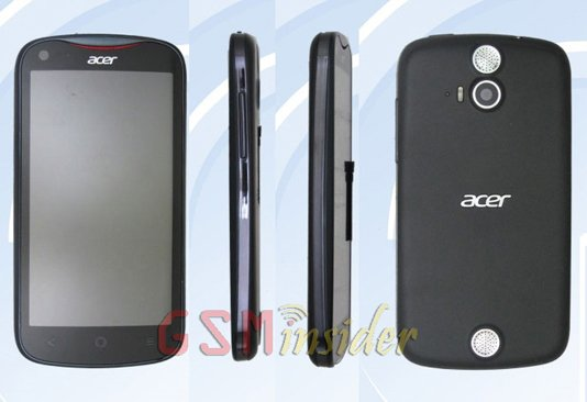 Acer V370 with 4.5-inch screen and quad-core CPU approved in China