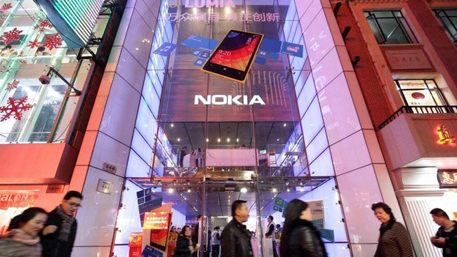 Nokia closes its flagship store in Shanghai, China