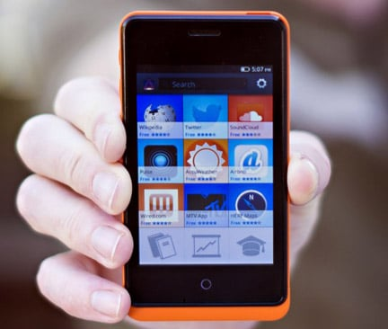 Mozilla offering phones for apps to get more developers on board