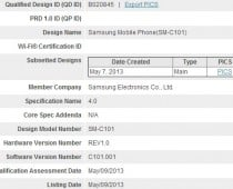 Samsung Galaxy S4 Zoom caught at the Bluetooth SIG