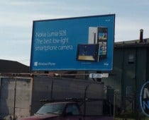Nokia Lumia 928 billboard