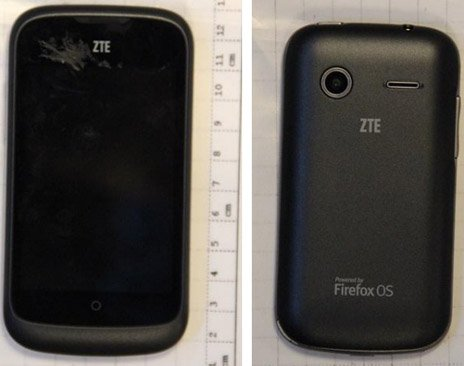 Firefox OS-based ZTE Open caught at the FCC