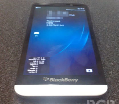 BlackBerry A10 Aristo caught in the wild