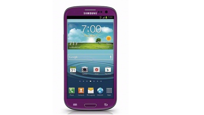 Purple Galaxy S4 coming to Sprint