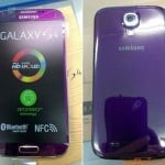 Purple Mirage Galaxy S4 caught in the wild