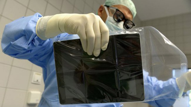 Augmented reality app assists in liver surgery