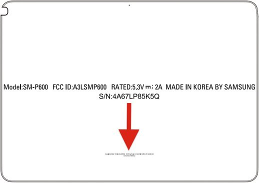 Samsung Galaxy Note 10.1 hits the FCC