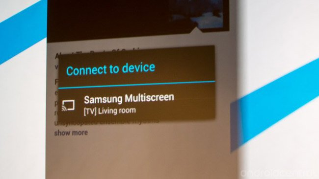 Samsung smart TVs to get Chromecast-like content sharing
