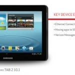 Verizon's Samsung Galaxy Tab 2 10.1 update adds the ability to install apps on a memory card, Ethernet connection support and more