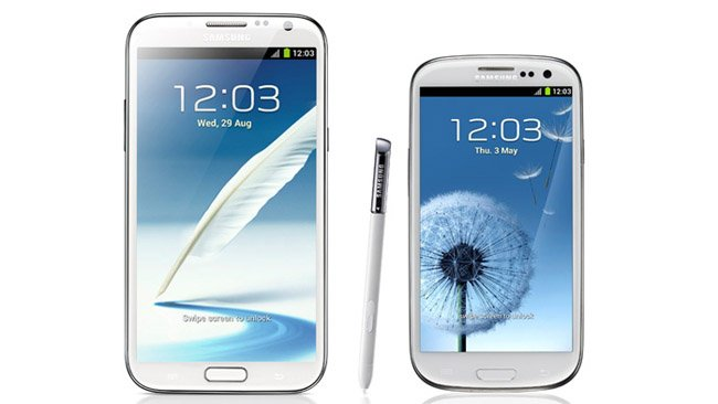 Sprint's Galaxy Note 2, AT&T's Galaxy S3 get Android 4.3 updates
