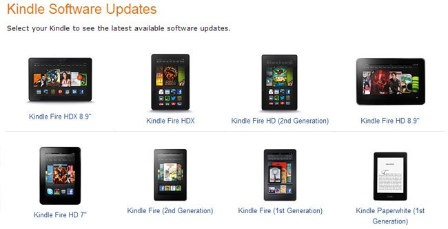Amazon launches Fire OS 3.1 OTA update for Kindle Fire tablets