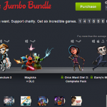 Humble Jumbo Bundle  pay what you want and help charity