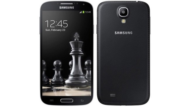 Samsung Galaxy S4 and Galaxy S4 mini Black Editions announced for Russia