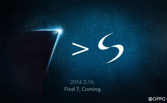 Oppo says its Find 7 will be much better phone than Galaxy S5