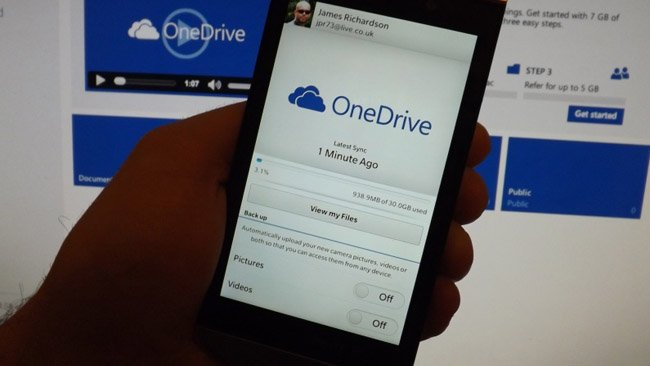 Microsoft OneDrive gets a BlackBerry 10 app