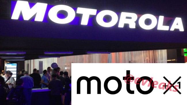 Moto X + 1 in works?