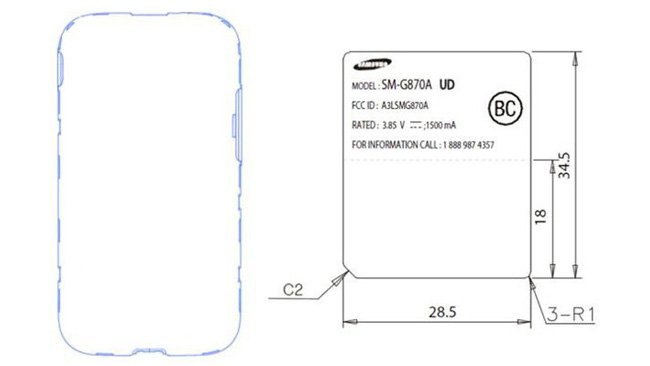 Samsung Galaxy S5 Active caught at the FCC
